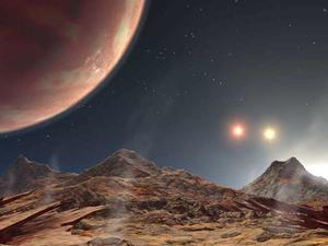 Giant planet with 3 stars found, KELT-4Ab
