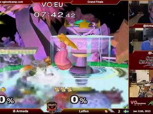 Video: Jazz drummer plays along with a competitive Smash Bros. match