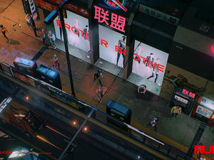 Ruiner is like Blade Runner meets Hotline Miami and 80s anime