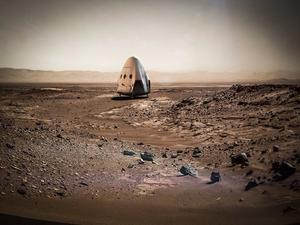 SpaceX could send a spacecraft to Mars as early as 2018