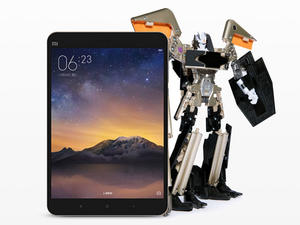 Xiaomi's Transformer toy morphs into a tablet (that doesn't actually work)