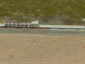 Video: First public Hyperloop test goes off without a hitch