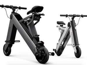 Kickstart this foldable electric scooter for half the price of URB-E
