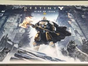 Destiny's next expansion, Rise of Iron, leaked thanks to misplaced poster