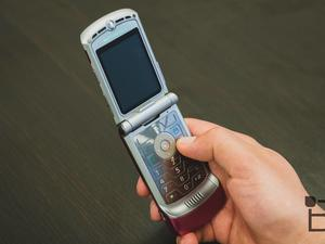 Motorola's famous RAZR might be resurrected as foldable smartphone