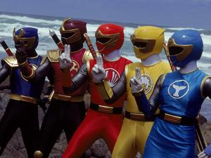 Get ready for seven new Power Rangers movies