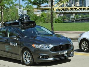 Uber's self-driving cars hit the roads in Pittsburgh