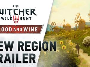 Witcher 3's Blood and Wine 'New Region' trailer shows off a bright, gorgeous world