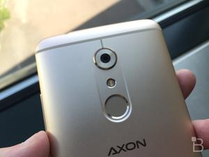 ZTE Axon 7 Mini leaks with a fingerprint scanner and more