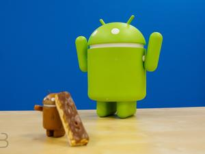 Nougat's market share grows, but it still isn't the top