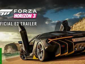 Forza Horizon 3 revealed at E3 2016 - Taking you way Down Under on Sept 27!