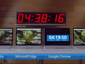 Microsoft exposes Google Chrome as worst battery hog