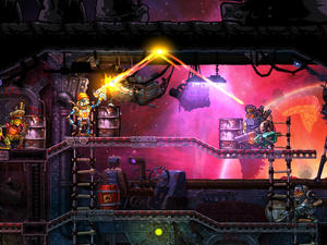 SteamWorld Heist gets an HD launch trailer in time for PS4, PS Vita, PC release