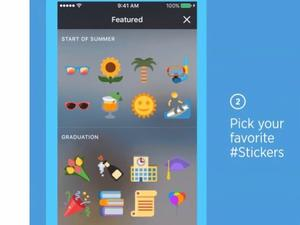Twitter Stickers for photos to add flare to your timeline soon