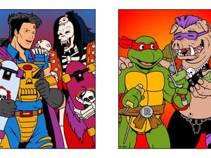 Famous cartoon enemies become BFFs in awesome new series