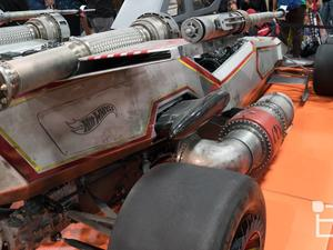 Hot Wheels made an X-wing racecar and it looked awesome in person