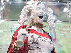 Get a detailed look at some of the Suicide Squad costumes