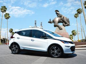 Autonomous Chevy Bolts hit the streets in Arizona