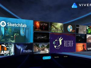 HTC unveils Viveport VR app store, launching this fall