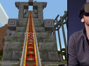 Minecraft arrives on Oculus Rift with special new features