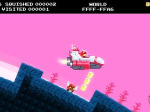 No Mario's Sky offers an infinite universe and infinite Goomba stomping!