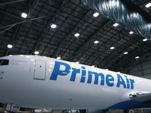 Amazon Prime Air Boeing 767 breaks cover for first time