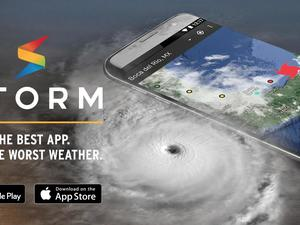 'Storm' by Weather Underground is the best app for the worst weather