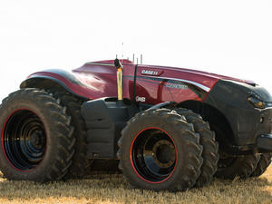 This self-driving tractor could change farming forever