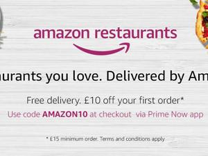 Amazon now delivers food from your favorite restaurants in London