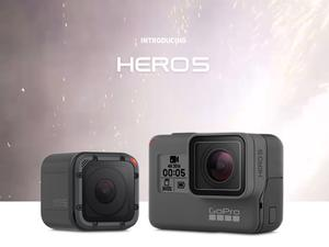 GoPro Hero 5 Black, Hero 5 Session debut with 4K, voice controls
