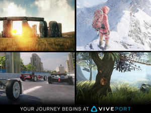HTC Vive's Viveport VR marketplace is now available worldwide