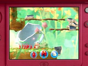 A Pikmin game has been announced for the Nintendo 3DS