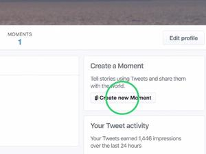 Twitter now lets you create your own Moments