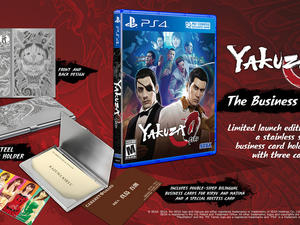 Yakuza 0 gets a Business Edition, complete with steel business card holder
