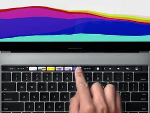 MacBook Pro with Touch Bar runs a modified version of iOS