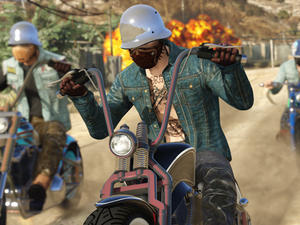 I'm already obsessed with GTA Online's new Bikers DLC