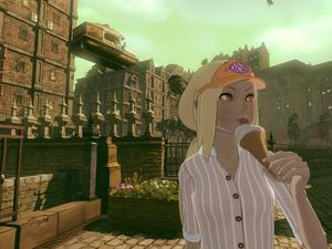 Gravity Rush 2 screenshots - I have a rain check on my date with Kat