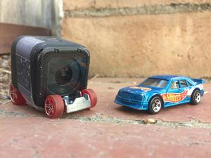 Strapping a GoPro to Hot Wheels makes for great entertainment