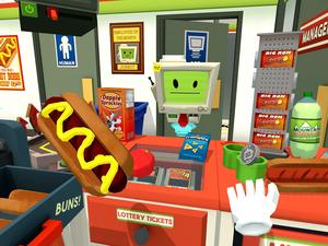 The most downloaded PlayStation VR game during the month of launch was... Job Simulator!?