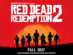 Red Dead Redemption 2 announced! Coming Fall 2017 - Trailer on Thursday