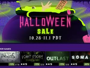 Steam's having a Halloween Sale! It's on now