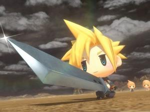 World of Final Fantasy is an entry level game? Well, so was Final Fantasy VII