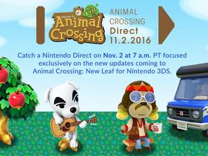 Watch the Animal Crossing: New Leaf Direct livestream here