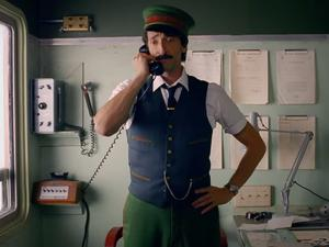 Wes Anderson directs a Christmas short starring Adrien Brody, and it's great