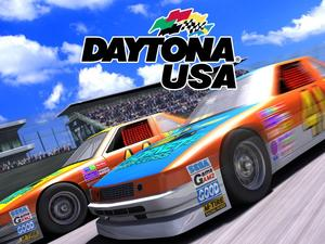 Sega's new Daytona game might be taking the old-school look a bit too far