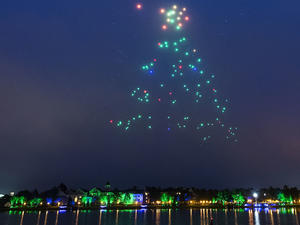 Drones at Disney take to the sky for new holiday experience