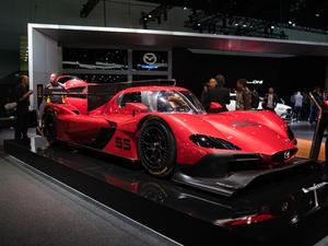 Mazda RT24-P is a stunning race car ready to compete