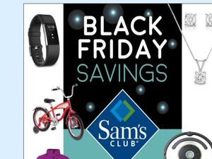 Sam's Club Black Friday deals revealed