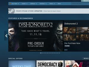 Hey look, the Steam store's been updated