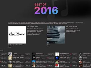 Apple reveals its Best of 2016 lists
